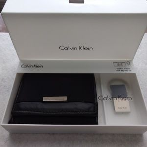 Calvin Klein Wallet and Key Chain